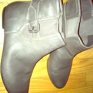 Zara booties grey